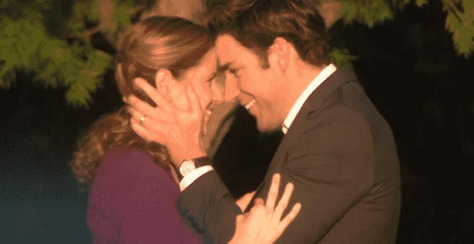 Jim e Pam - Relação no Trabalho