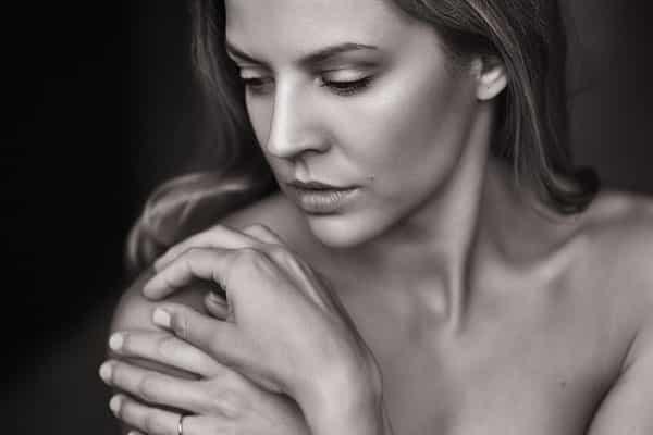 mulher sensualizando